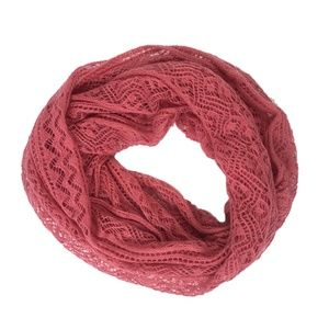 BP Nordstrom Pink Lightweight Circle Scarf